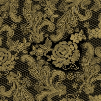 Lunch Tovaglioli Lace Royal embossed