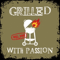 Lunch napkins Grilled Withe Passion khaki