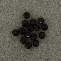 Polished glass beads