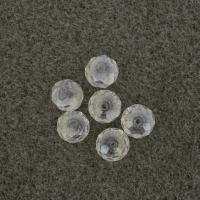 Polished glass beads