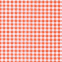 Serviettes lunch Vichy ARANCIO