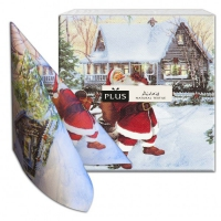Dinner napkins Santa Claus