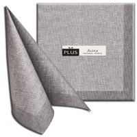Dinner napkins Iuta grigio