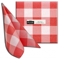 Airlaid Dinner Servietten - Osteria rosso