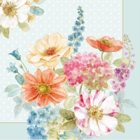 Lunch napkins COTTAGE FLOWERS