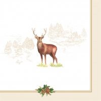 Lunch napkins Deer
