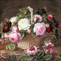 Lunch Servietten Old England Roses