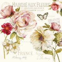 Lunch napkins March? aux Fleurs