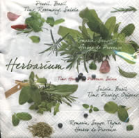 Lunch napkins Herbarium