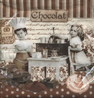 Lunch napkins Maitres Chocolatiers