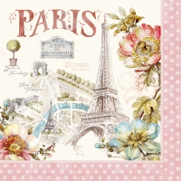 Lunch napkins Paris Forever