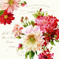 Lunch napkins Season Flowers