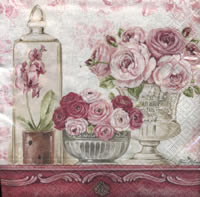 Lunch napkins Shabby Roses
