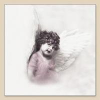 Lunch Servietten Cute Angel Girl