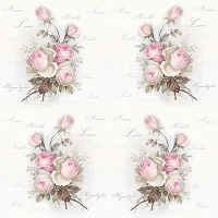 Serviettes lunch Small Love Roses