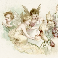 Lunch Servietten Love Letter Fairies