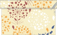 Table Runner ERNA creme / bodeaux