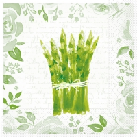Tissue Lunch Servietten - Spargel