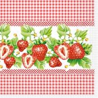 Tissue Lunch napkins ERDBEEREN
