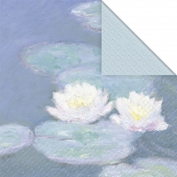 Lunch napkins Water Lilies