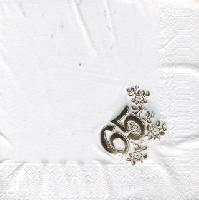 Lunch napkins foil stamping - gold