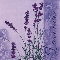 Lunch Servietten Scent of Lavender