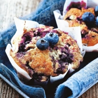 Lunch Servietten Blueberry Muffins