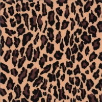 Lunch napkins Leopard Pattern nature