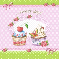 Serviettes lunch Sweet Day