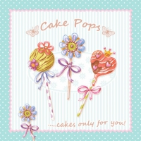 Lunch napkins Cake Pops