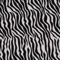 Serviettes lunch Zebra Pattern black-white