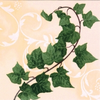 Lunch napkins Hedera Ramus ivory