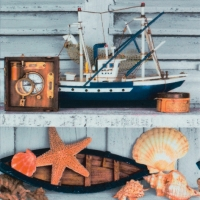 Lunch napkins Decor Maritime