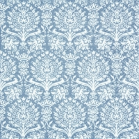 Lunch napkins Royal Damask silver