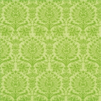 Lunch napkins Fine Damask green