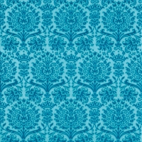 Servilletas Lunch Fine Damask turquoise