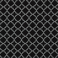 Lunch napkins Quattrefoil Lattice black