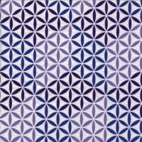 Lunch napkins Abstract Cubes plum
