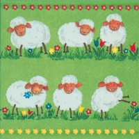 Lunch napkins Funny Sheep