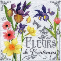 Lunch napkins Fleurs de Printemps
