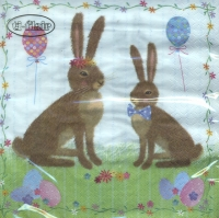 Lunch napkins Easter Party
