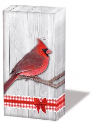 Taschentücher Cardinal,  Tiere,  Everyday,  bedruckte papiertaschentücher,  Vögel
