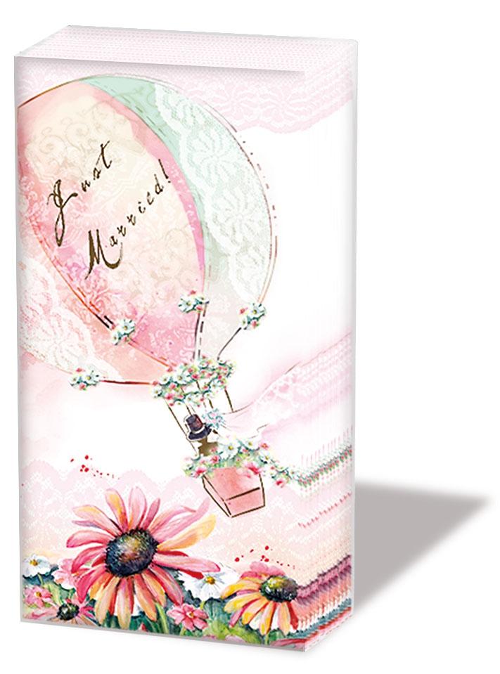 Taschentücher Happily Ever After,  Blumen,  Ereignisse,  Everyday,  bedruckte papiertaschentücher,  Hochzeit,  Blumen