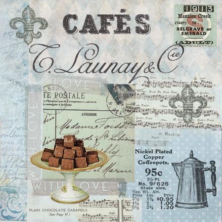 Servietten / Essen,  Sonstiges - Schriften,  Essen - Pralinen / Schokolade,  Everyday,  cocktail servietten,  Kaffee,  Pralinen,  Schriften
