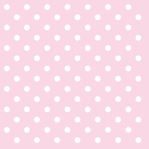 20 Servietten - 33 x 33 cm PASTEL DOTS ROSE,  Sonstiges - Muster,  Everyday,  lunchservietten