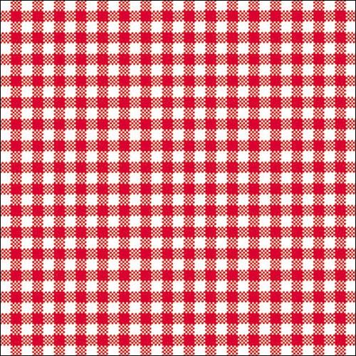 Lunch Servietten VICHY SMALL RED,  Sonstiges - Muster,  Everyday,  lunchservietten