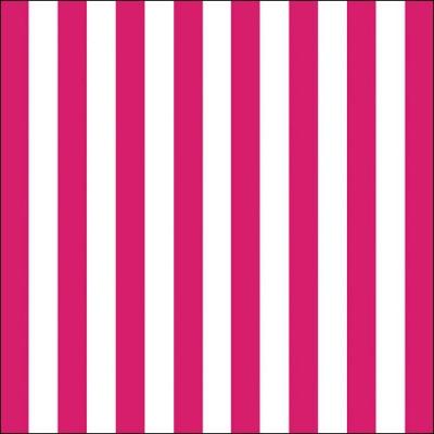 Lunch Servietten Stripes magenta
