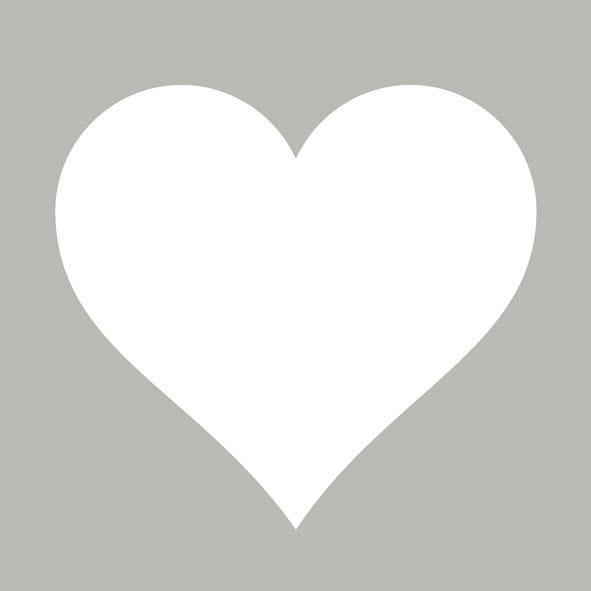 Lunch Servietten HEART GREY ,  Ereignisse - Liebe,  Everyday,  lunchservietten,  Herz,  grau
