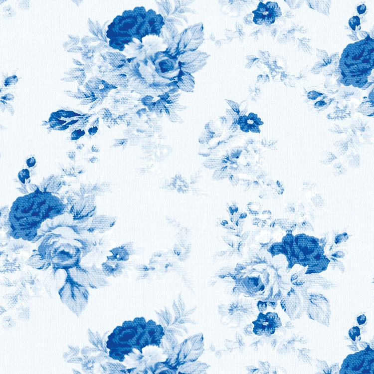 Lunch Servietten ANTOINETTE BLUE ,  Blumen - Rosen,  Everyday,  lunchservietten,  Rosen,  blau