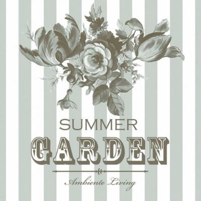 Servietten,  Blumen -  Sonstige,  Everyday,  lunchservietten,  Garten